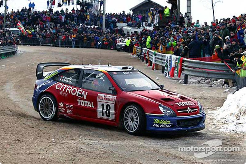 2003 - Première victoire de Loeb : Citroën Xsara WRC