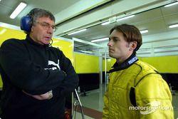 Gary Anderson et Giancarlo Fisichella