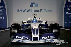 The new BMW Williams F1 FW25