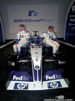 Ralf Schumacher y Juan Pablo Montoya