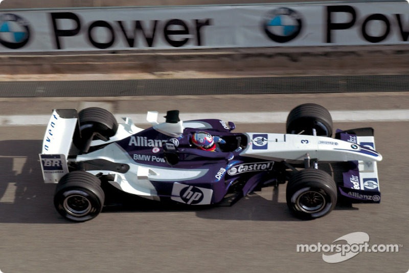 Juan Pablo Montoya test ediyoryeni BMW Williams F1 FW25