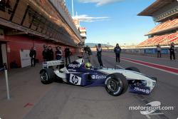 Ralf Schumacher prueba el nuevo BMW Williams F1 FW25