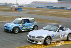 Nuzzo Motorsports Mini Cooper S : Tony Nuzzo, Shane Lewis; TC Kline Racing BMW Z4 : Donald Salama,