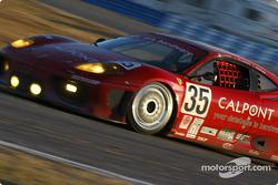 #35 Risi Competizione Ferrari 360GT: Ralf Kelleners, Anthony Lazzaro, Johnny Mowlem
