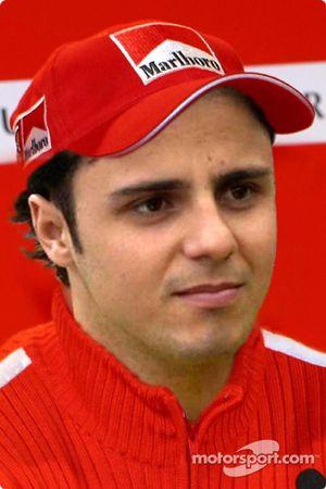 El nuevo piloto de pruebas de Ferrari, Felipe Massa