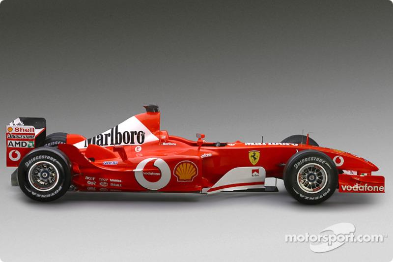 The new Ferrari F2003-GA