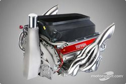yeni Ferrari F2003-GA motor