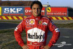 Ferrari yeni Test Pilotu Felipe Massa