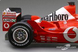 detay, yeni Ferrari F2003-GA