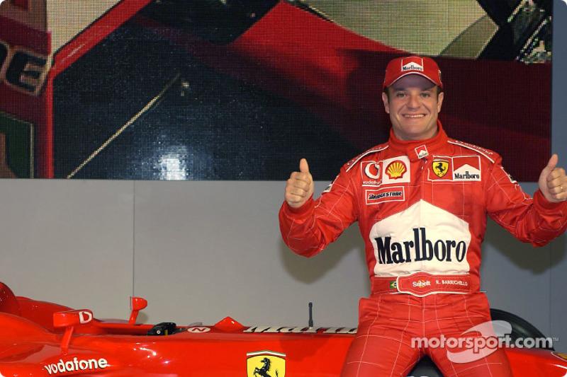Rubens Barrichello. 323 grandes premios