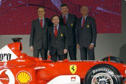 Jean Todt, Paolo Martinelli, Rory Byrne ve Ross Brawn