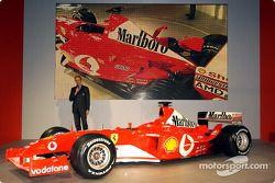 Paolo Martinelli ve yeni Ferrari F2003-GA