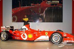 Rory Byrne ve yeni Ferrari F2003-GA