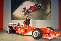 Jean Todt ve yeni Ferrari F2003-GA