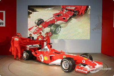 Ferrari F2003-GA launch