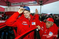 Marcus Gronholm and Corrado Provera