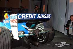 Detalle del nuevo Sauber Petronas C22