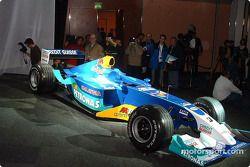 El nuevo Sauber Petronas C22