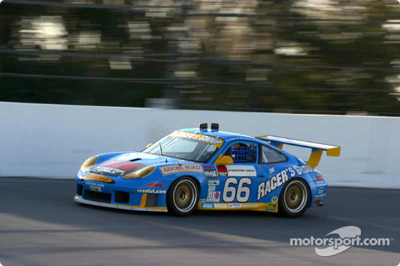 2003: #66 The Racers Group Porsche GT3 RS: Kevin Buckler, Michael Schrom, Timo Bernhard, Jorg Bergmeister