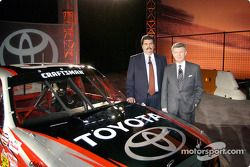 NASCAR and Toyota announce the Toyota Tundra Nascar Craftsman Truck for 2004