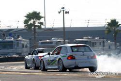 #12 TC Kline Racing BMW Z4: Donald Salama, Steve Pfeffer et #83 Duane Neyer Motorsports BMW Z3: Jim Hamblin, Stewart Tetreault