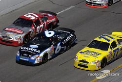 Kurt Busch, Mark Martin y Dave Blaney