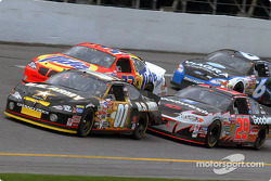 Jerry Nadeau, Kevin Harvick, Ricky Craven and Mark Martin