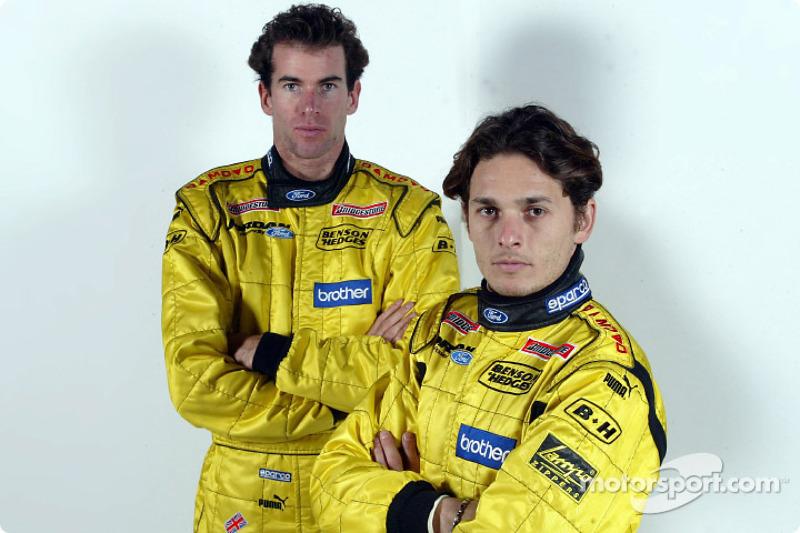 Ralph Firman and Giancarlo Fisichella