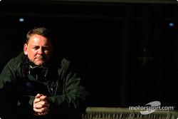 El gerente del equipo Jaguar Racing, David Stubbs