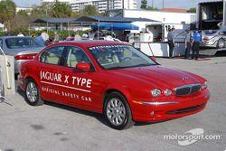 Trans-Am series official pace car: Jaguar X Type