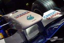 Nariz del nuevo Sauber Petronas C22