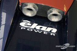 Detail of the Panoz American Le Mans Series car