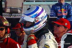 Hurley Haywood gets ready to take the wheel of the #59 Brumos Racing Porsche Fabcar