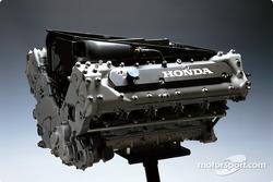 The Honda RA003E engine