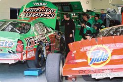 Garage Joe Gibbs Racing