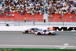 Ron Hornaday y Brian Vickers