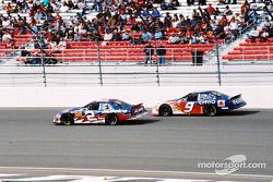 Ron Hornaday y Jeff Burton