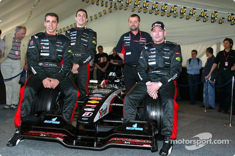 2003: F1-debuut