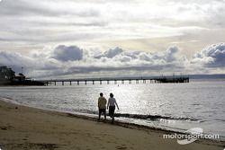 Playa en un pequeño pueblo de nombre Cowes en Philip Island