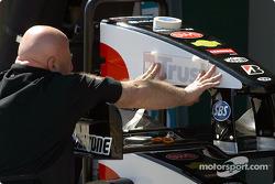 Membre de l'équipe Minardi