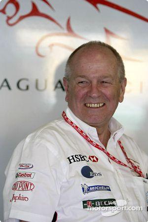 El director deportivo y comercial de Jaguar Racing, John Hogan