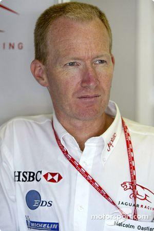 El ingeniero en jefe de Jaguar Racing, Malcom Ostler