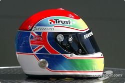 Helm van Justin Wilson