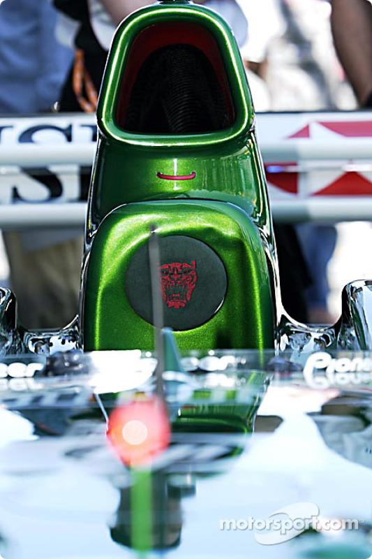 Detail of the Jaguar