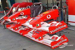 Conos de nariz de Ferrari