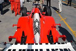 Ferrari en la inspección técnica