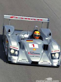 Frank Biela in the Infineon Team Joest Audi R8