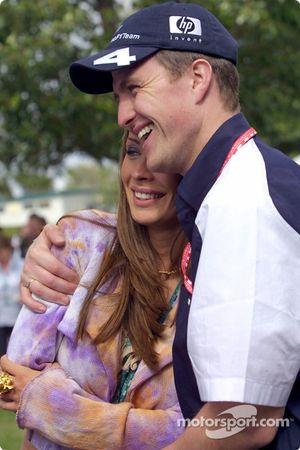 Ralf Schumacher y su novia Cora