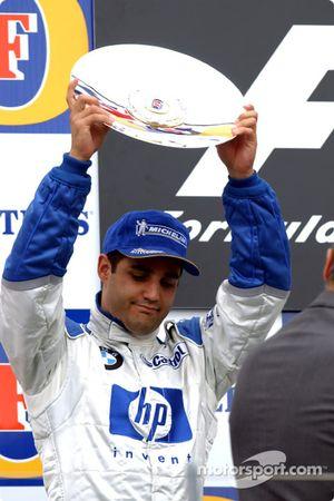 Le podium : Juan Pablo Montoya