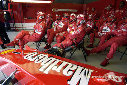 Pit de Ferrari